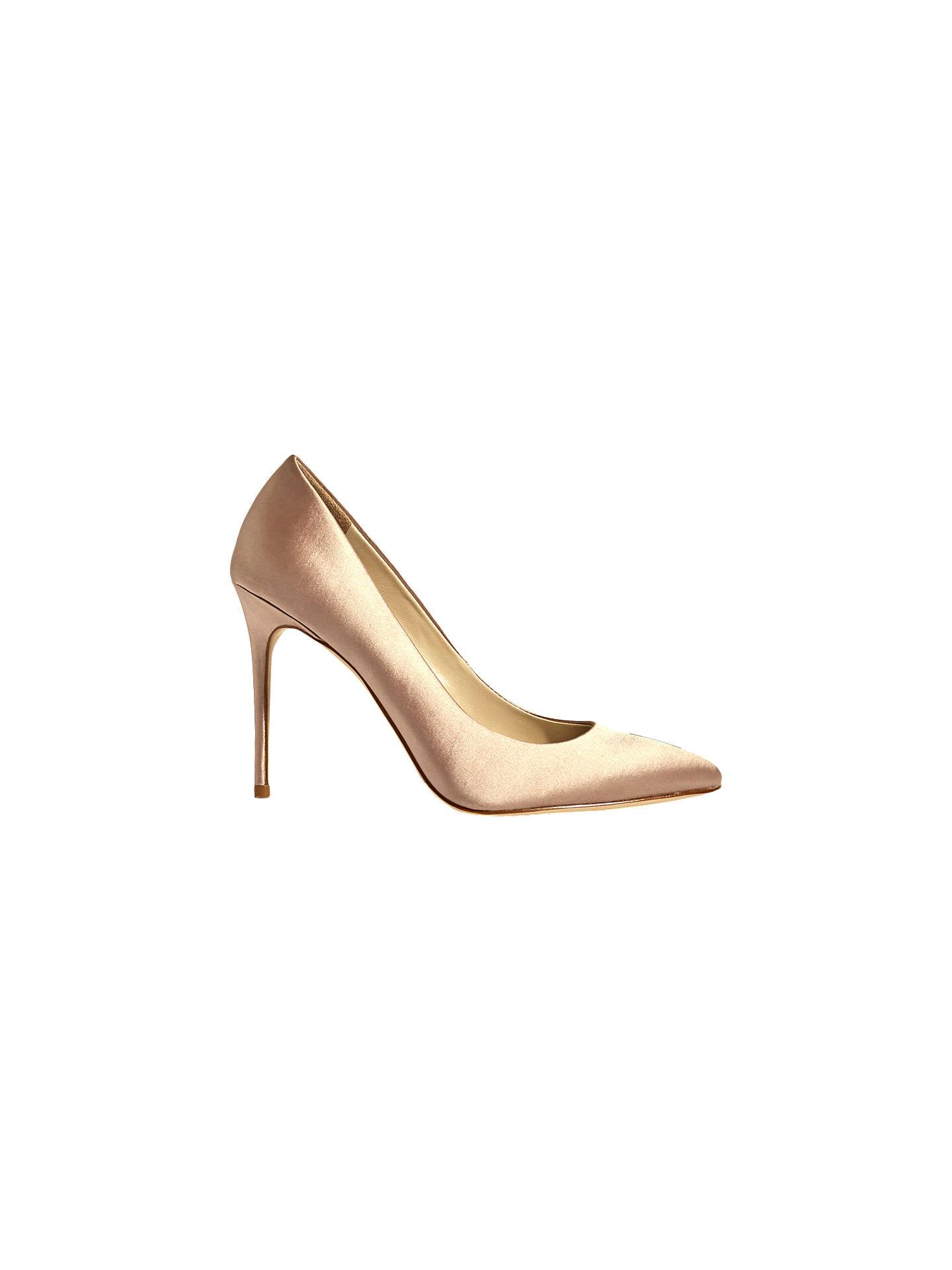 Karen Millen Satin Stiletto Heeled Court scarpe at John Lewis Partners & Partners Lewis bf725e