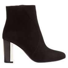 Buy Karen Millen Block Heeled Ankle Boots Online at johnlewis.com