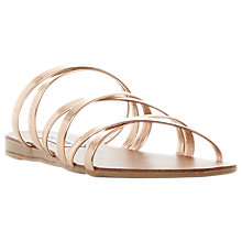 Buy Steve Madden Rory Cross Strap Sandals Online at johnlewis.com