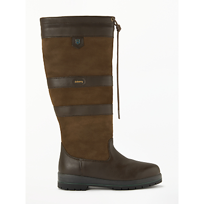 Dubarry Galway Knee High Boots, Walnut