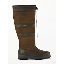 Buy Dubarry Galway Knee High Boots, Walnut Online at johnlewis.com