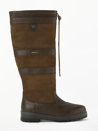 Dubarry Galway Gortex Waterproof Knee High Boots, Walnut Leather