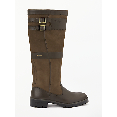Dubarry Longford Knee High Boots, Walnut
