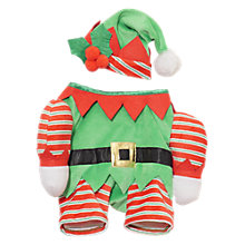 Buy Rosewood Christmas Elf Pet Costume, Multi Online at johnlewis.com