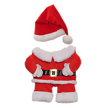 Buy Rosewood Christmas Santa Claus Pet Costume, Red/White Online at johnlewis.com