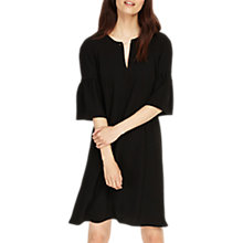 Buy Phase Eight Cara Chain Neck Dress, Black Online at johnlewis.com