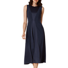 Buy L.K. Bennett Babette Satin Back Dress, Navy Online at johnlewis.com