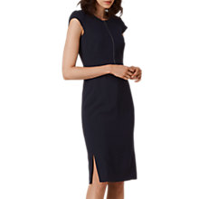 Buy L.K. Bennett Suzette Tailored Dress, Navy Online at johnlewis.com