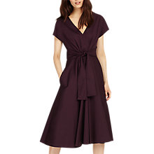 Buy Phase Eight Leia Tie Dress, Fig Online at johnlewis.com