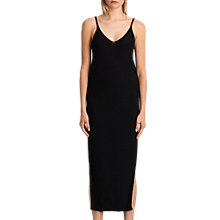 Buy AllSaints Blyth Long Dress, Black Online at johnlewis.com