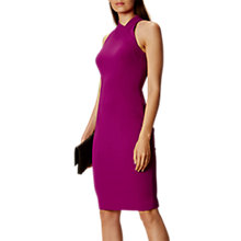 Buy Karen Millen Extreme Cut Out Dress, Magenta Online at johnlewis.com