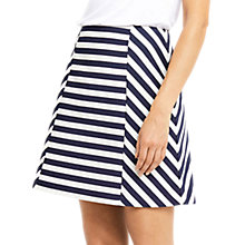 Buy Oasis Stripe A-Line Skirt, Multi Online at johnlewis.com