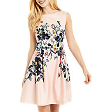Buy Oasis Rosie Anne Skater Dress, Multi Online at johnlewis.com