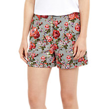 Buy Oasis Rose Print Shorts, Multi Online at johnlewis.com