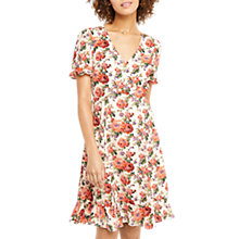 Buy Oasis Utility Rose Tea Dress, Multi Online at johnlewis.com