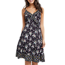 Buy Oasis Patched Ditsy Dress, Multi/Black Online at johnlewis.com