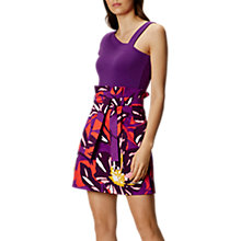 Buy Karen Millen Colourful Flower Cotton Skirt, Multi Online at johnlewis.com