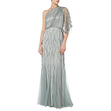 Buy Raishma One Shoulder Dress, Slate Online at johnlewis.com