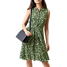 Buy Hobbs Belinda Dress, Mineral Green Online at johnlewis.com