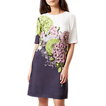 Buy Hobbs Cheryl Dress, Ivory/Multi Online at johnlewis.com