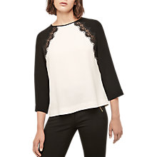 Buy Gerard Darel Betty Blouse, Ecru Online at johnlewis.com