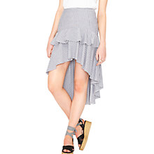 Buy Miss Selfridge High Low Hem Skirt, Multi Online at johnlewis.com
