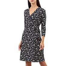 Buy Hobbs Sally Dress, Navy/Ivory Online at johnlewis.com