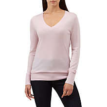 Buy Hobbs Cherry Sweater, Bright Pink Online at johnlewis.com
