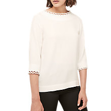 Buy Gerard Darel Babel Blouse, Ecru Online at johnlewis.com