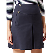 Buy Hobbs Joy Sailor Skirt, Navy Online at johnlewis.com