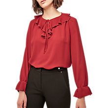 Buy Gerard Darel Beline Blouse, Red Online at johnlewis.com