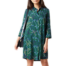 Buy Hobbs Marcy Dress, Green/Multi Online at johnlewis.com
