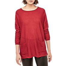 Buy Gerard Darel Lewis Jumper, Red Online at johnlewis.com