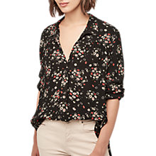 Buy Gerard Darel Bella Blouse, Black/White Online at johnlewis.com