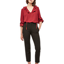 Buy Gerard Darel Salma Trousers, Black Online at johnlewis.com