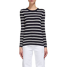 Buy Whistles Annie Stripe Sparkle Jumper, Multi Online at johnlewis.com