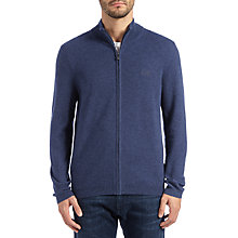 Buy BOSS Green C-Cenox Zip Jumper, Dark Blue Online at johnlewis.com