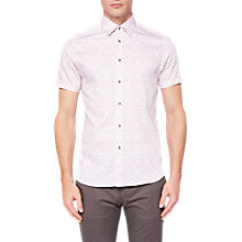 Buy Ted Baker Almada Shirt, Pink Online at johnlewis.com
