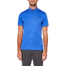 Buy Ted Baker Rickee Polo Shirt, Blue Online at johnlewis.com