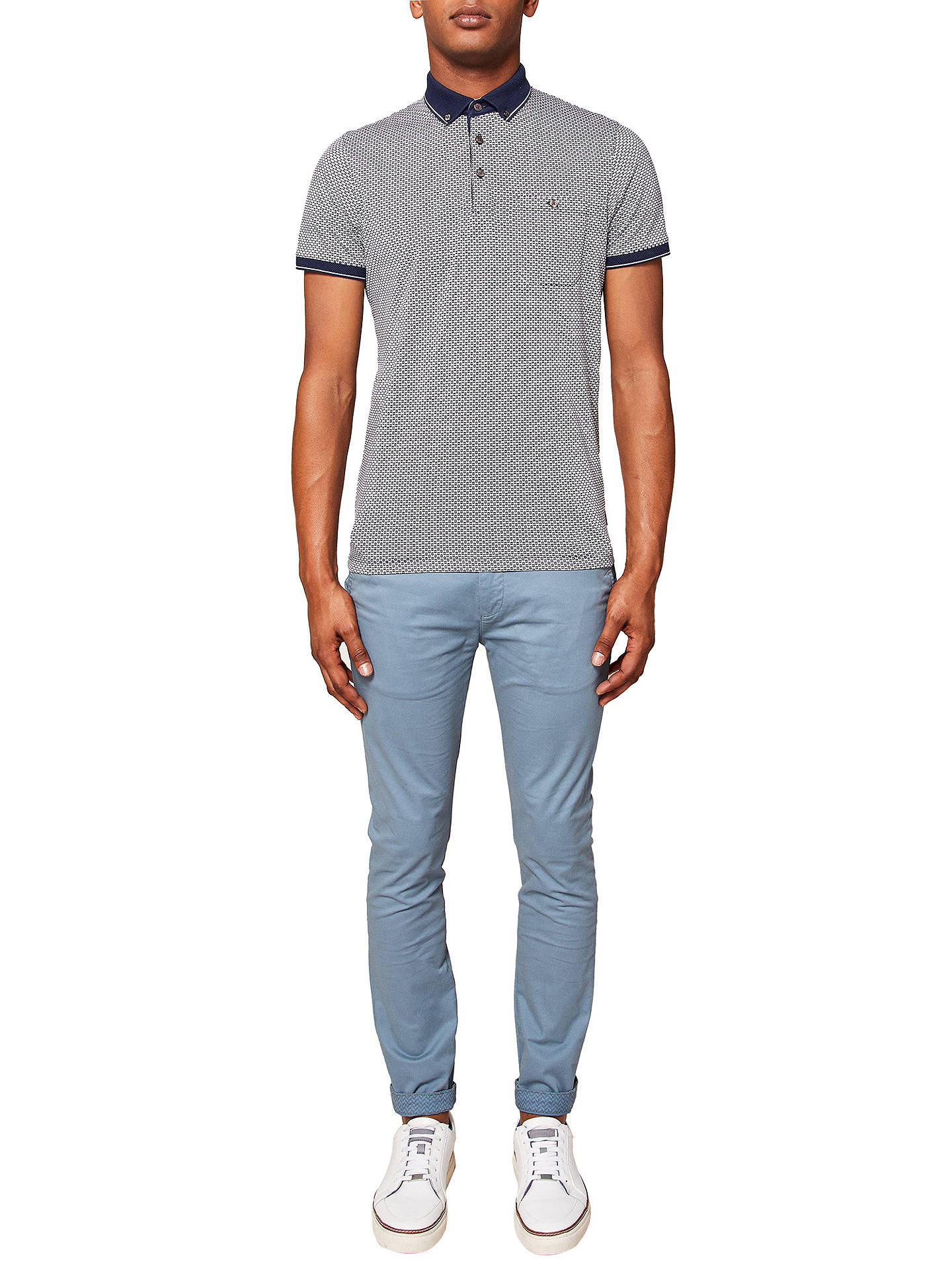 4f35834f1 Ted Baker Tapcor Tapered Chinos at John Lewis   Partners