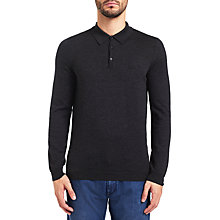 Buy BOSS Green C-Camus Long Sleeve Polo Top Online at johnlewis.com