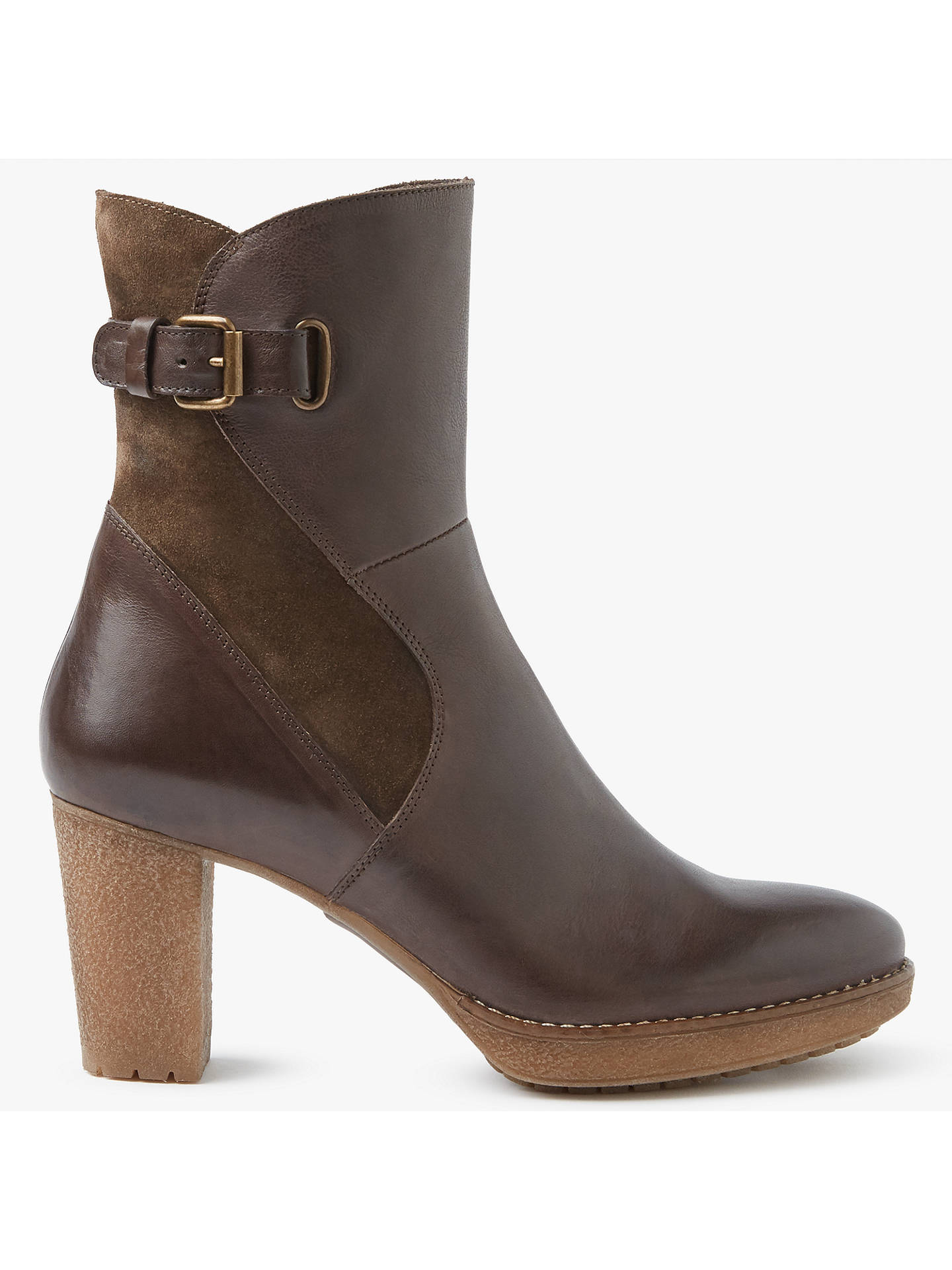 1430fea40eb9 Buy John Lewis   Partners Pinky Block Heeled Ankle Boots