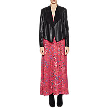 Buy French Connection Stephanie Waterfall Jacket, Black Online at johnlewis.com