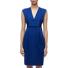 Buy Whistles Jasmine Dress, Blue Online at johnlewis.com