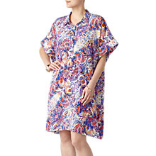 Buy Pure Collection Silk Kimono Dress, Paisley Print Online at johnlewis.com
