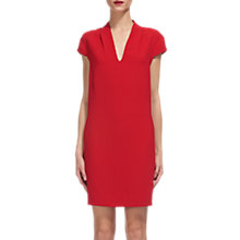 Buy Whistles Paige V-Neck Crepe Dress Online at johnlewis.com