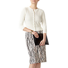 Buy Pure Collection Pencil Skirt, Zebra Print Online at johnlewis.com