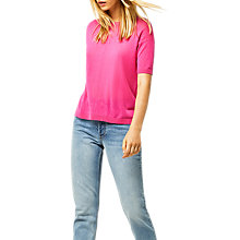 Buy Warehouse Boxy Knitted Top Online at johnlewis.com
