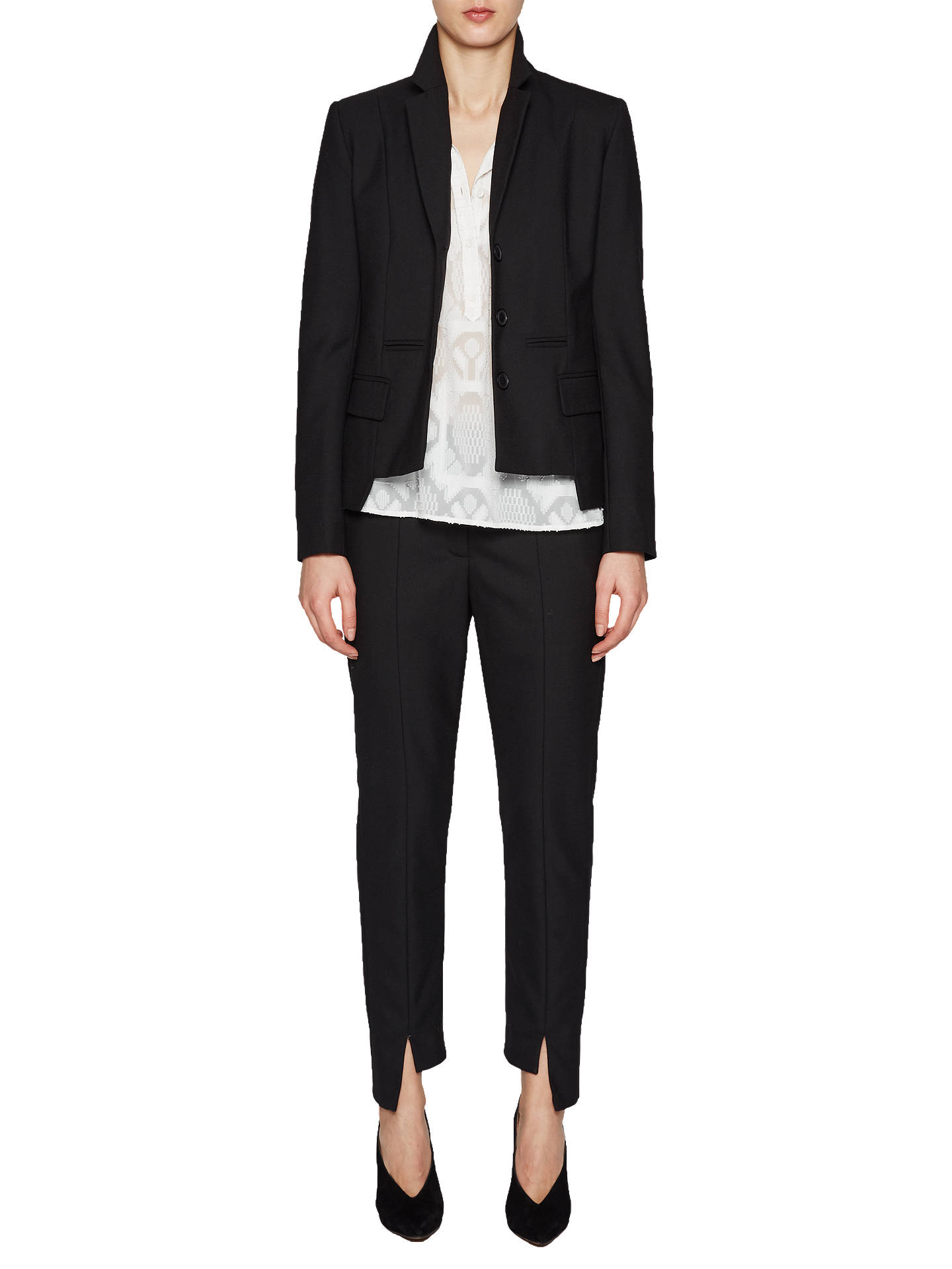 BuyFrench Connection Winter Tallulah Jacket, Black, 6 Online at johnlewis.com