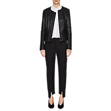 Buy French Connection Stephanie Quilt Jacket, Black Online at johnlewis.com